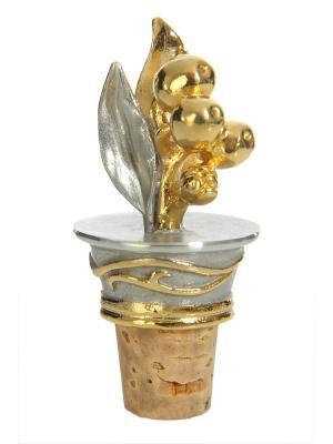 Пробка для шампанского Eagle Pewter. Цвет: золотистый, серебристый