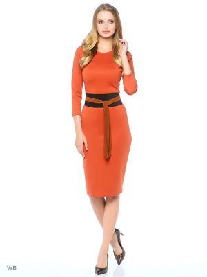Пояс Xenia Dukova. Цвет: коричневый, оранжевый