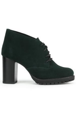 Ботинки ELROSSO EL'ROSSO. Цвет: зеленый