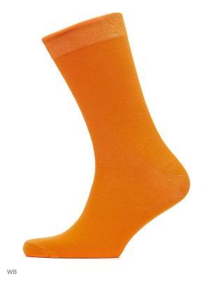 Носки хипстерские (2 пары) HOSIERY. Цвет: оранжевый