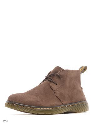 Ботинки Dr.Martens. Цвет: коричневый