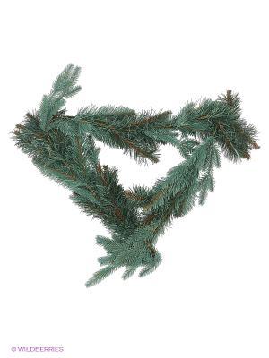 Ветка новогодняя  Ситхинская 1,5 м Карнавал-Премьер. Цвет: зеленый