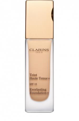 Устойчивый тональный крем Teint Haute Tenue+ Clarins. Цвет: бесцветный