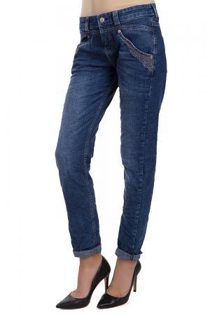 Модные джинсы MAC. Цвет: синий
