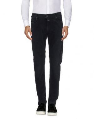 Повседневные брюки CLOSED. Цвет: черный