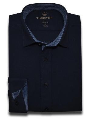 Рубашка Tsarevich. Цвет: индиго