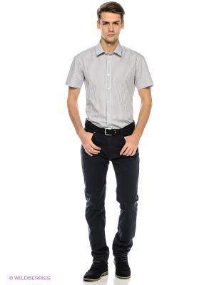 Рубашка Finn Flare. Цвет: белый, черный