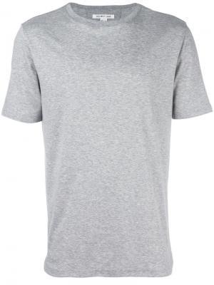 Базовая футболка Helmut Lang. Цвет: серый