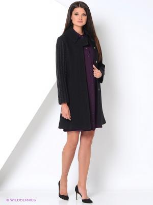 Пальто PALEFF. Цвет: черный