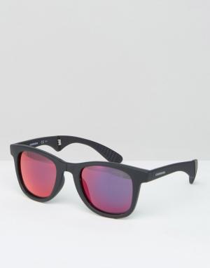 Carrera Солнцезащитные очки-авиаторы Carrerra 600/FD. Цвет: черный