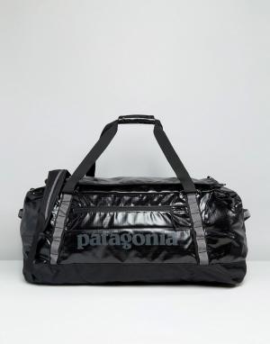 Patagonia Черная сумка Black Hole. Цвет: черный