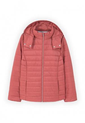 Куртка утепленная Violeta by Mango. Цвет: розовый
