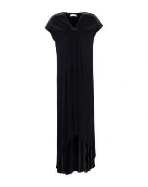 Длинное платье ALPHA STUDIO. Цвет: черный
