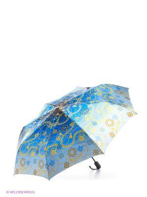 Зонт Doppler. Цвет: голубой, желтый