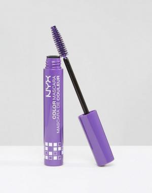 NYX Professional Makeup Цветная тушь для ресниц Make-Up. Цвет: коричневый