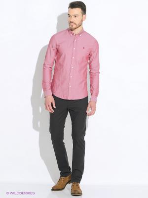 Рубашка MAVI. Цвет: розовый