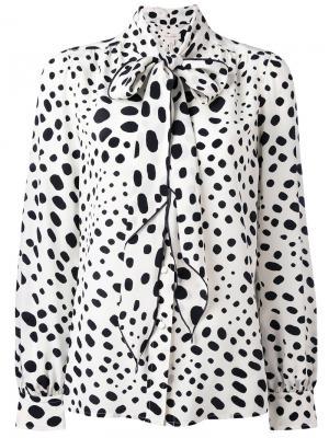 Декорированная блузка Marc Jacobs. Цвет: белый