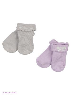 Носки, 2 пары Malerba. Цвет: серый, розовый