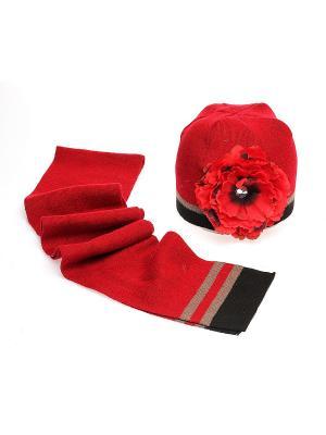Комплект Modniki. Цвет: красный