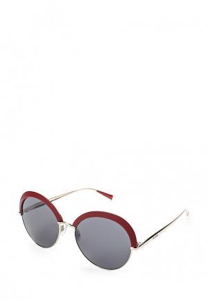 Очки солнцезащитные Max Mara. Цвет: бордовый