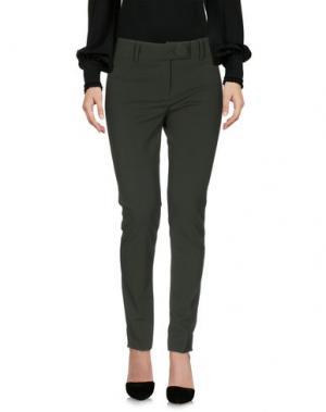 Повседневные брюки PAULIE. Цвет: темно-зеленый