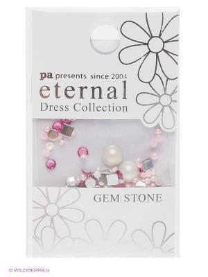 Стразы-камушки для ногтей Сладкий микс ETERNAL Dress Collection Gem Stone Sweet Mix PA presents since 2004. Цвет: розовый
