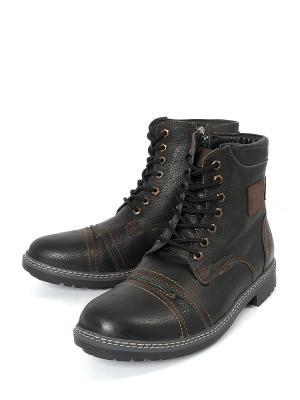 Ботинки Тверская Обувная Фабрика. Цвет: черный