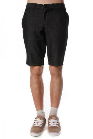 Классические мужские шорты  Milton Short Black Ezekiel. Цвет: синий