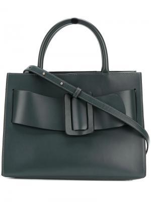 Buckle detail tote bag Boyy. Цвет: зелёный