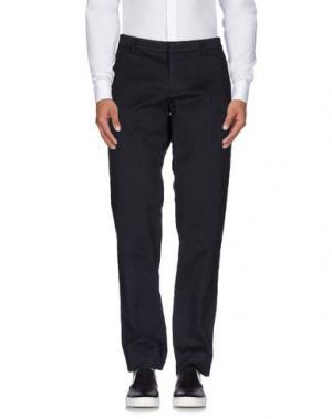 Повседневные брюки GOLD CASE by ROCCO FRAIOLI. Цвет: темно-синий