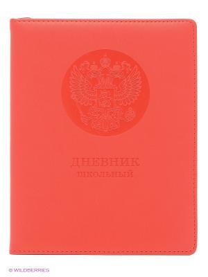 Государственная символика (6 видов) ДНЕВНИКИ (ИСКУССТВ. КОЖА) Канц-Эксмо. Цвет: красный, синий
