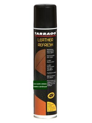 Аэрозоль-краситель для гл. кожи Leather Refresh (033 темно-зеленый) Tarrago. Цвет: темно-зеленый