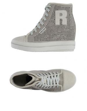 Высокие кеды и кроссовки RUCO LINE. Цвет: светло-серый