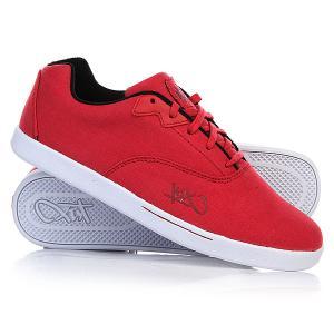 Кеды кроссовки низкие  Cali Red K1X. Цвет: красный