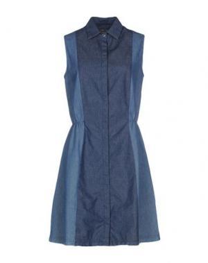 Короткое платье ROŸ ROGER'S. Цвет: синий