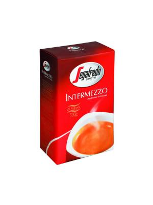 Кофе Segafredo INTERMEZZO зерно 500г Zanetti. Цвет: черный