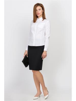 Блузка EMKA FASHION. Цвет: белый