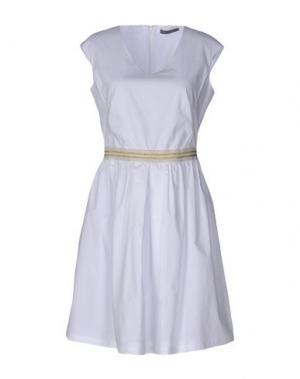 Короткое платье 19.70 NINETEEN SEVENTY. Цвет: белый
