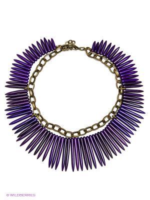 Ожерелье Polina Selezneva. Цвет: фиолетовый
