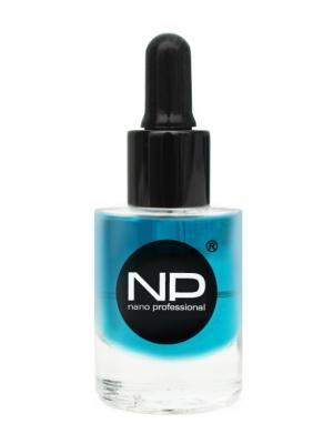 Масло для кутикулы Tea Tree 15 мл Nano Professional. Цвет: бирюзовый