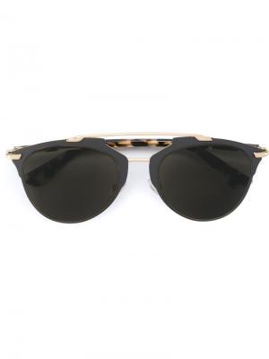 Солнцезащитные очки Reflected Dior Eyewear. Цвет: чёрный