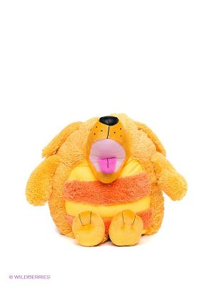 Мягкая игрушка Собачка Jay at Play. Цвет: оранжевый, желтый