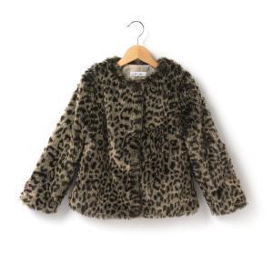 Пальто R kids. Цвет: леопард