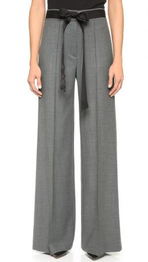 Широкие брюки Camilla Milly. Цвет: голубой