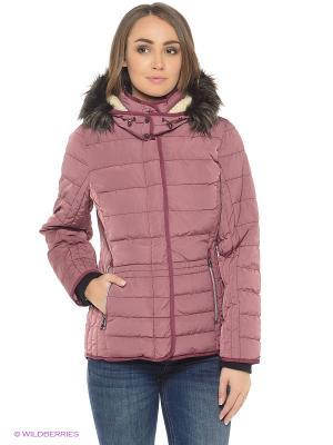 Куртка TOM TAILOR. Цвет: фиолетовый