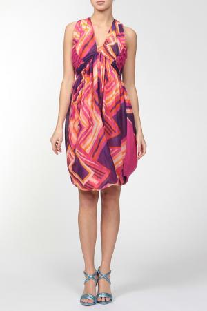 Платье Caractere. Цвет: розовый