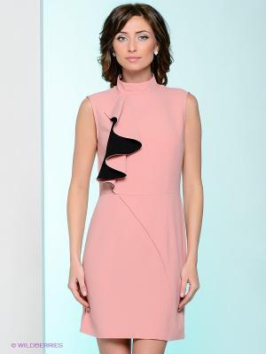Платье Nastya Sergeeva by May Be. Цвет: бледно-розовый