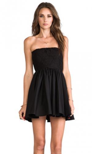 Платье lux без бретелек Casper & Pearl. Цвет: черный