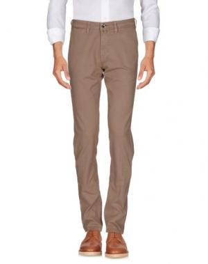 Повседневные брюки FRADI. Цвет: хаки