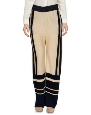 Повседневные брюки MAISON FLÂNEUR. Цвет: бежевый